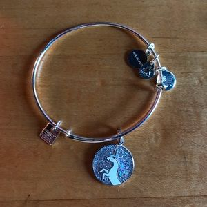Silver Unicorn Alex and Ani Bracelet